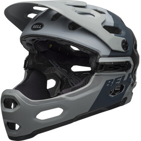 Bell Super 3R MIPS Helm downdraft matte gray/gunmetal